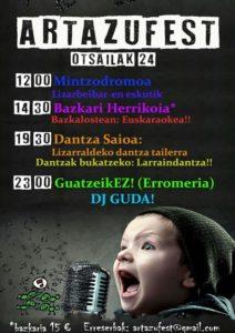 Artazufest @ Artazu (Izarbeibar)