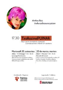 TxokozinePUINAK: Ainhoa Ruiz @ Lezaun (Ikastetxea)