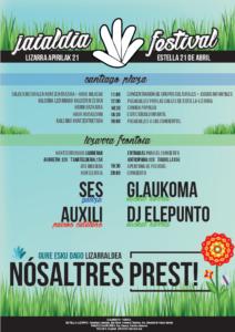 """""""Nosaltres Prest"""" jaialdia @ Lizarra (Santiago plaza eta Lizarra Frontoia)"""