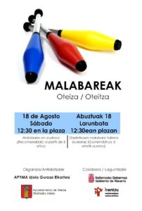 Malabare jolasak @ Oteitza (herriko plaza)