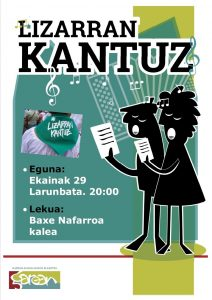 Lizarran Kantuz @ Lizarra (Baxe Nafarroa)
