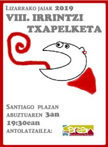 VIII Irrintzi txapelketa @ Lizarra (Santiago plaza)