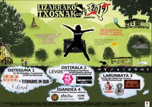 Festak: Txosnagunea @ Lizarra (bus geltoki atzeko txosnak)