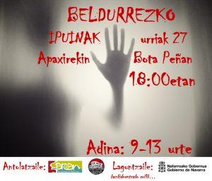 Beldurrezko ipuinak (9-13 urte) @ Lizarra (Bota Peña)