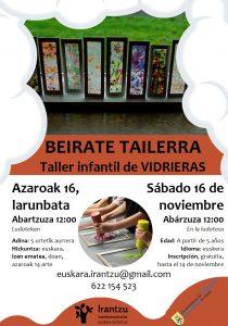 Beirate tailerra @ Abartzuza (ludoteka)
