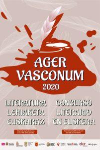 Ager Vasconum IV gazte literatura lehiaketa @ Ager Vasconum-a
