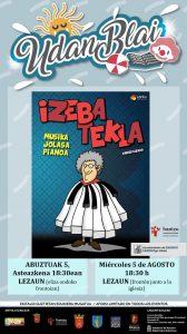 Izeba Tekla: Musika, Jolasa, Pianoa @ Lezaun (eliza ondoko pilotalekua)