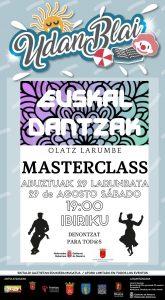 Euskal dantzak Masterclass @ Deierri (Ibiriku)