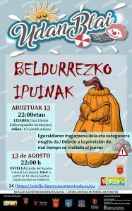 Beldurrezko ipuinak (10 urtetik aitzina) @ Lizarra (Los Llanos Kulturaguneko lorategia)