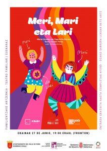 Familia antzerkia: Meri, Mari eta Lari @ Deierri (Eraulgo frontoia)