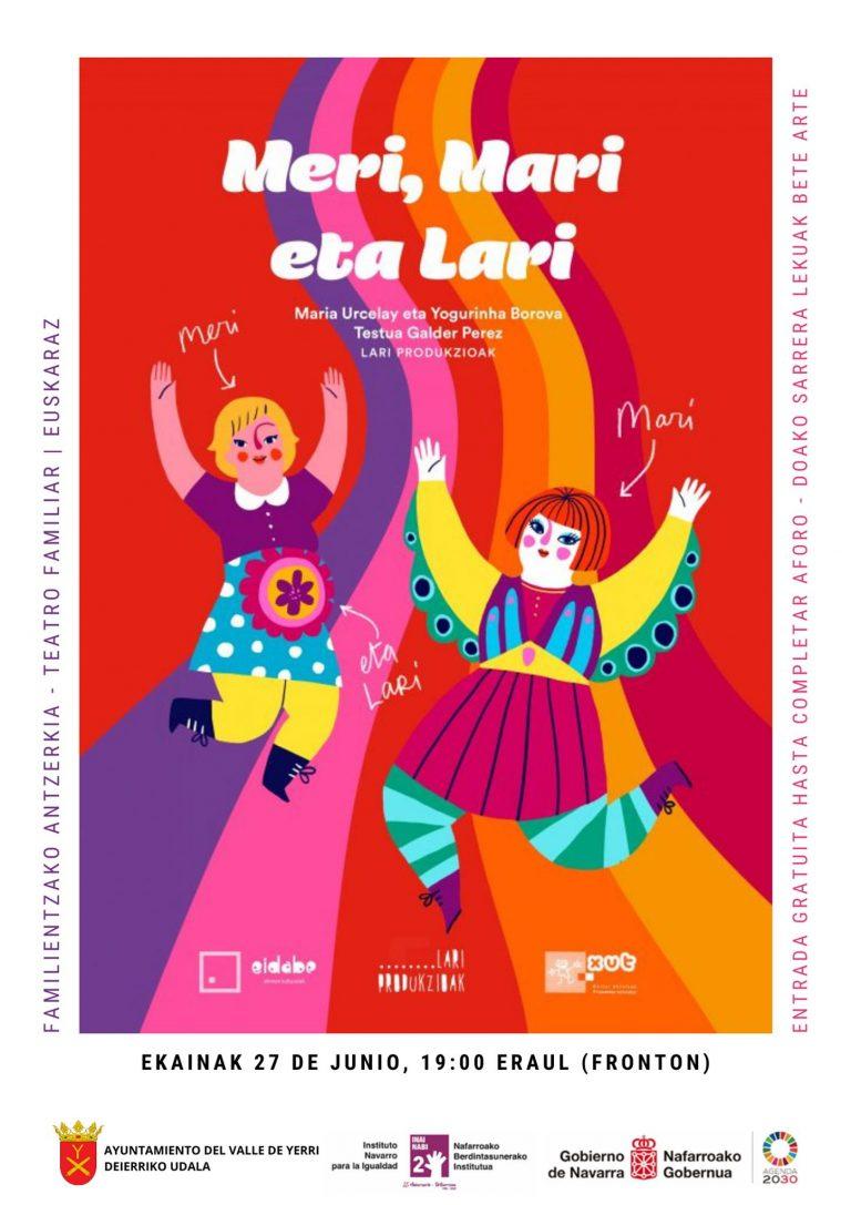 Familia antzerkia: Meri, Mari eta Lari
