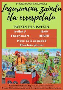 """Potxin eta Patxin: """"Ingurumena zaindu eta errespetatu"""" @ Bearin (Deierri)"""