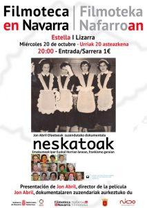 Dokumentala eta aurkezpena: Neskatoak @ Lizarra (Los Llanos Kulturagunea)